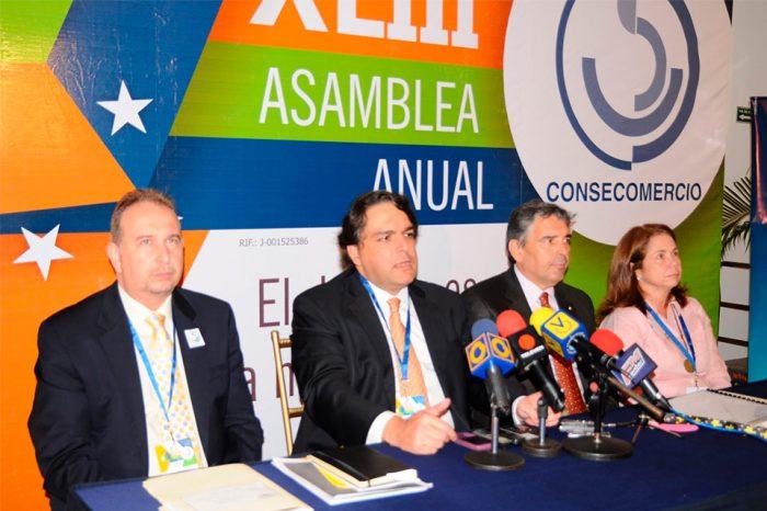 Comerciantes se reunirán en la XLVIII Asamblea Anual de Consecomercio