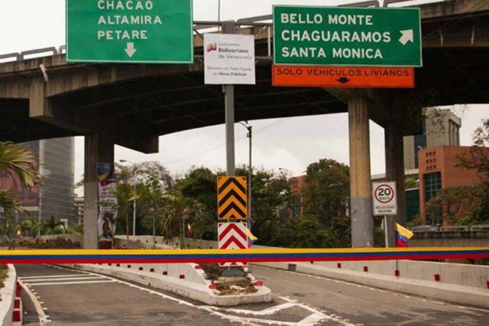 Inauguraron acceso de la autopista Francisco Fajardo a Bello Monte