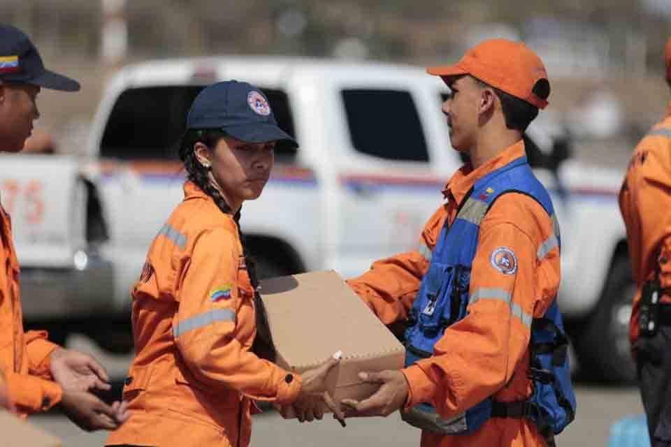Ayuda humanitaria Protección Civil