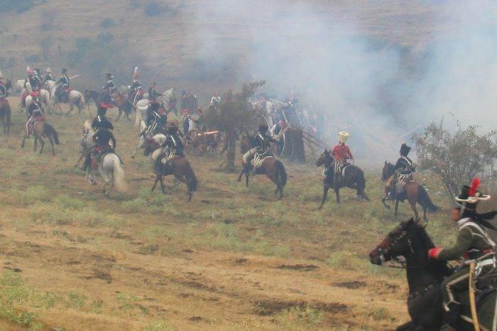 Batalla de San Félix (1817), por Ángel Lombardi Boscán