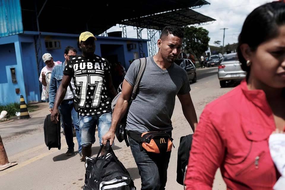 Venezolanos en Boa Vista
