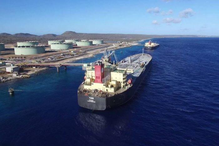 Terminal de Pdvsa en Bonaire