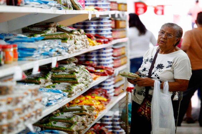 Canasta alimentaria se ubica en Bs 2,5 millones