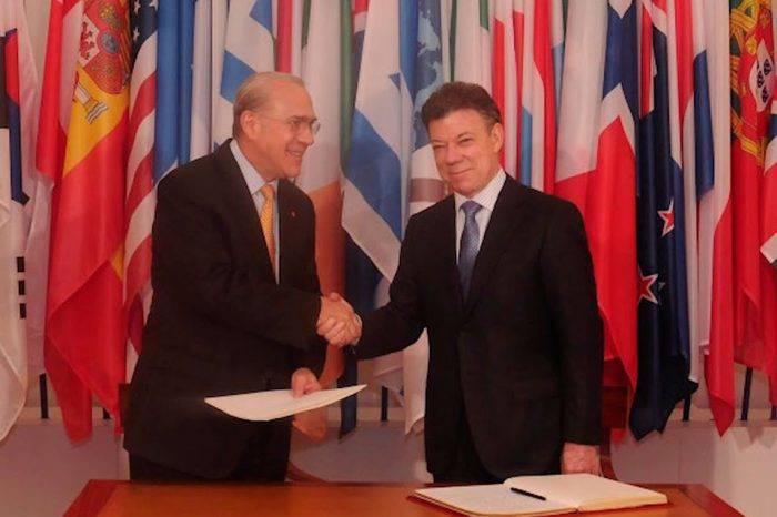 Colombia en la OCDE. Foto: