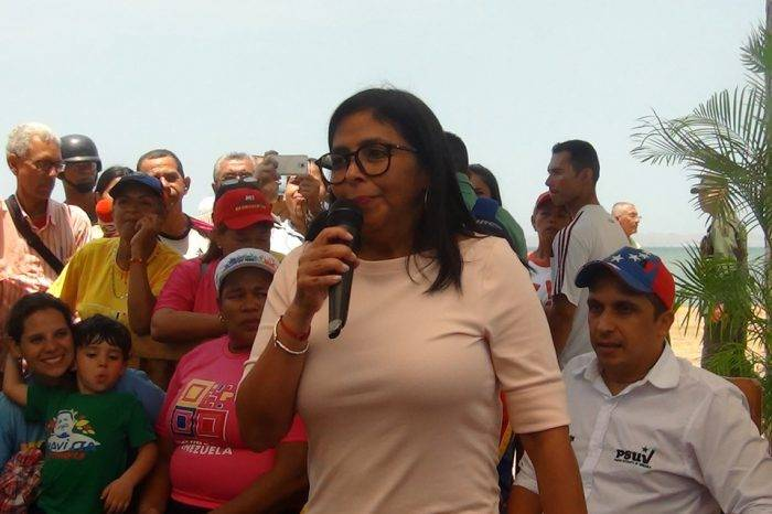 Delcy Rodríguez: Somos Venezuela inicia un nuevo rumbo en el mapa político del país