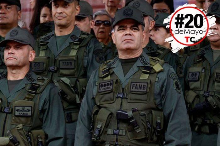 Fuerza Armada mantendrá restricciones durante este lunes 21 de mayo