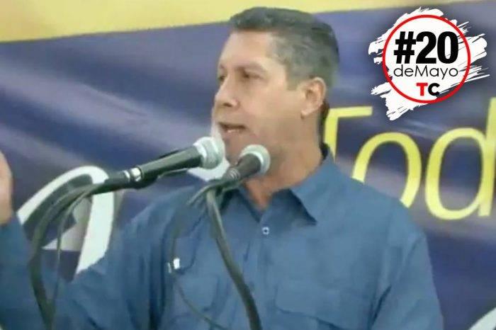 Falcón desconoció el proceso electoral que estuvo plagado de vicios