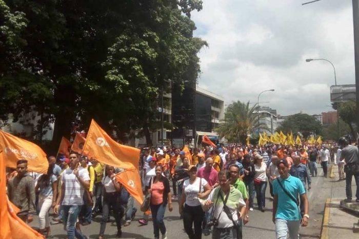 Frente Amplio Protestas