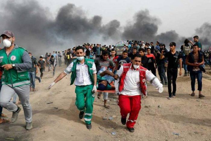 Gaza protestas