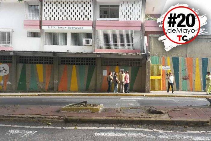 Poca afluencia es la constantes en centros de votación del noreste de Caracas