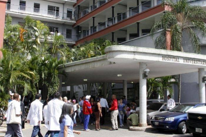 Hospital Universitario de Caracas. Foto: Fetrasalud