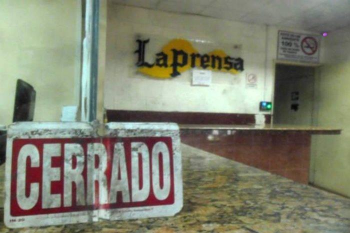 Boicot gubernamental cierra de manera definitiva el diario La Prensa de Barinas