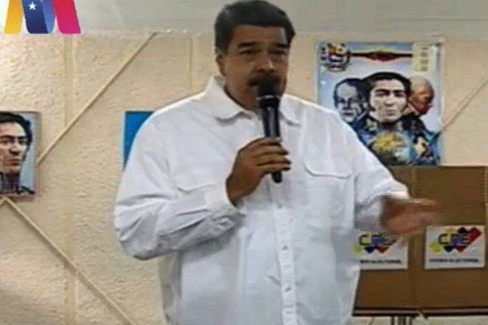 """Maduro califica de """"muy positivo"""" el balance de la intervención a Banesco"""