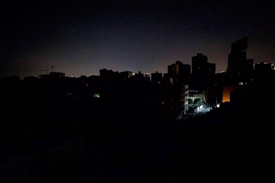 Maracaibo sin luz. Foto: Caraota Digital