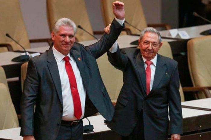 Díaz-Canel fue designado presidente de Cuba en medio de detenciones