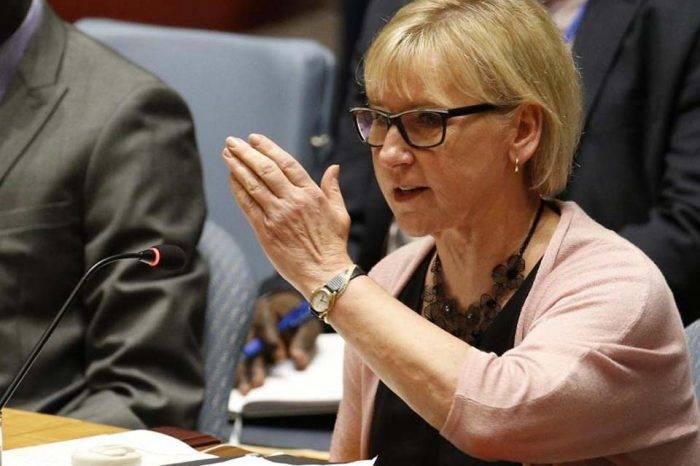 Ministro De Asuntos Exteriores De Suecia Margot Wahlstrom