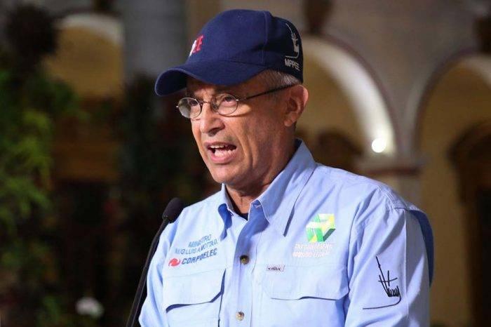 Motta Domínguez: Apagón fue por un cable cortado cerca de Santa Teresa