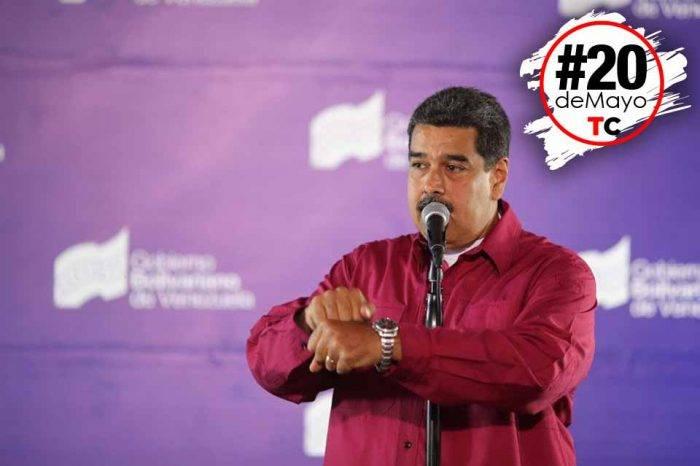 Nicolás Maduro 20 de mayo