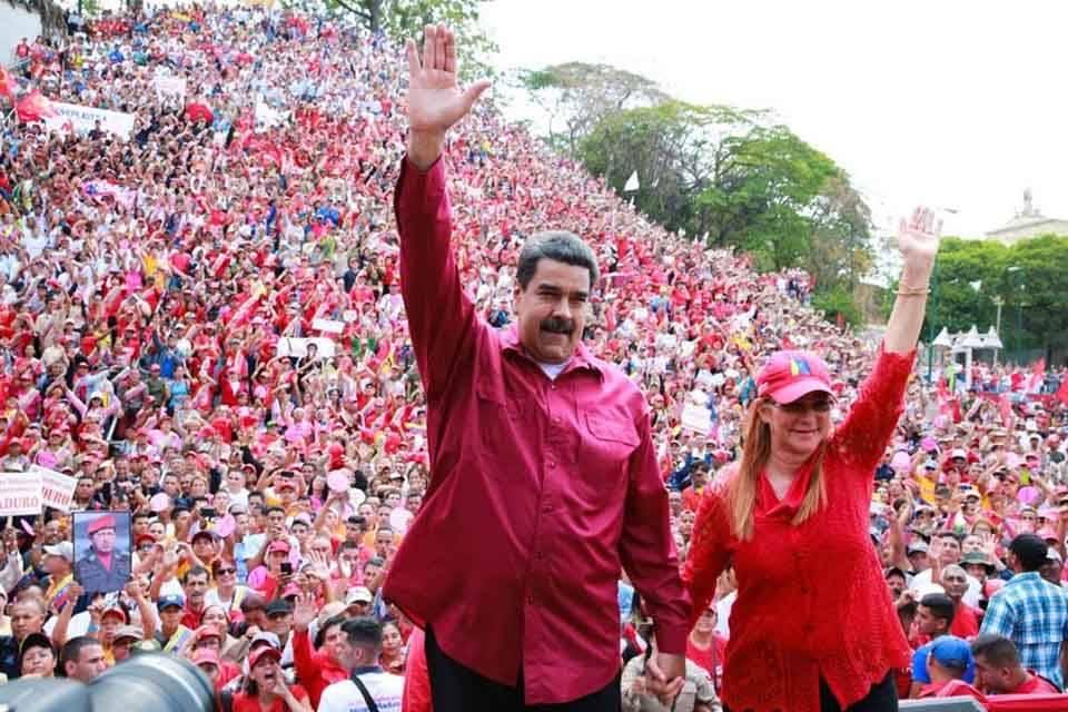 Nicolás Maduro Cilia Flores