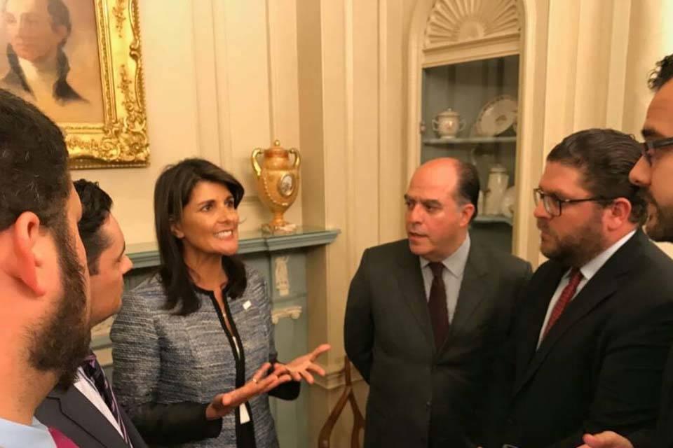 Nikky Haley embajadora ONU EEUU
