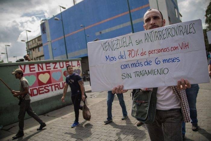 Venezolanos con VIH exigen al Gobierno cumplir medidas cautelares de la CIDH