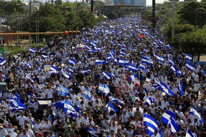 Protestas en Nicaragua. Foto: Univision.com