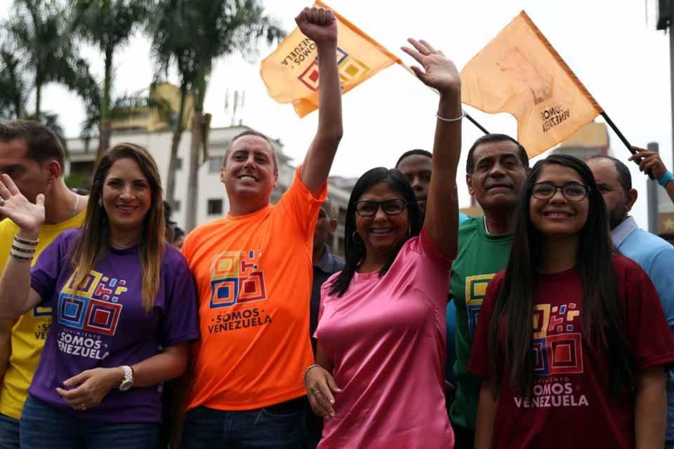 Somos Venezuela Delcy Rodríguez