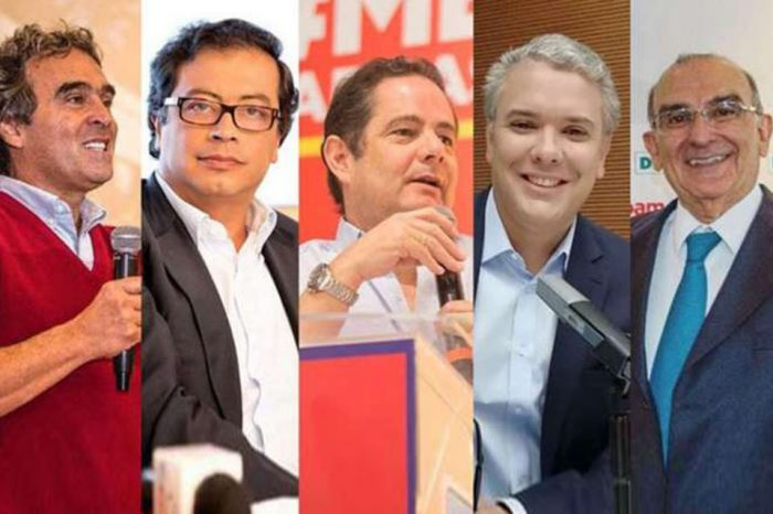 Candidatos presidenciales de Colombia