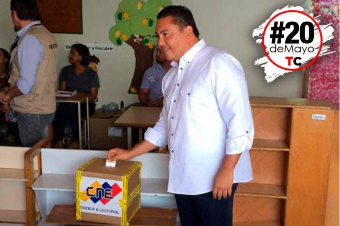 Javier Bertucci votó
