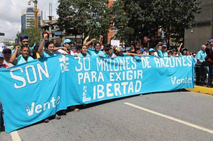 Para Vente Venezuela la vía electoral está cerrada