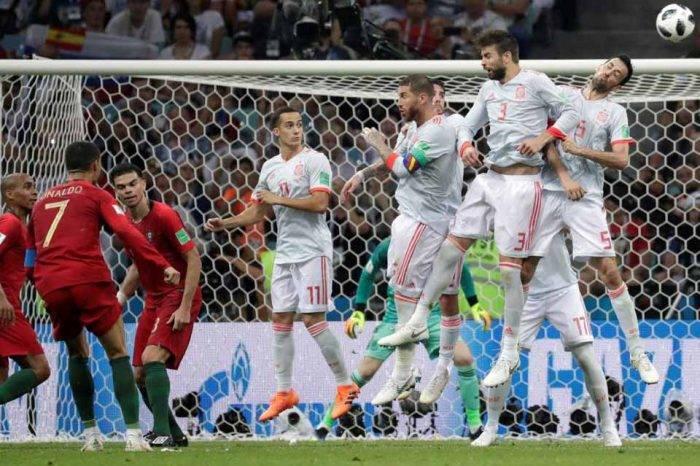 España y Portugal igualaron 3-3 en el mejor partido hasta ahora desarrollado en Rusia