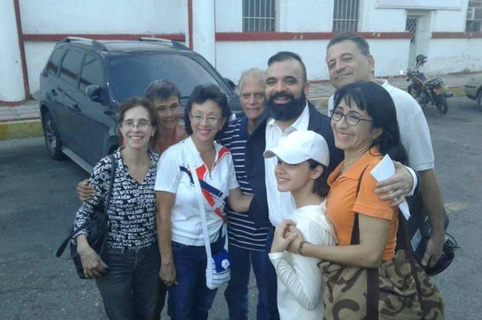 Raúl Emilio Baduel fue excarcelado este domingo