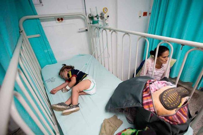 Registran casos de sarampión en todos los estados de Venezuela