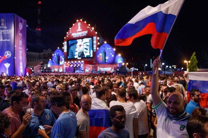 Rusia se puso a un paso de octavos del Mundial