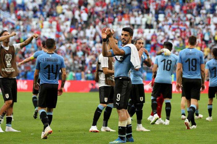 Rusia 2018: Uruguay golea y se asegura primera plaza del grupo A