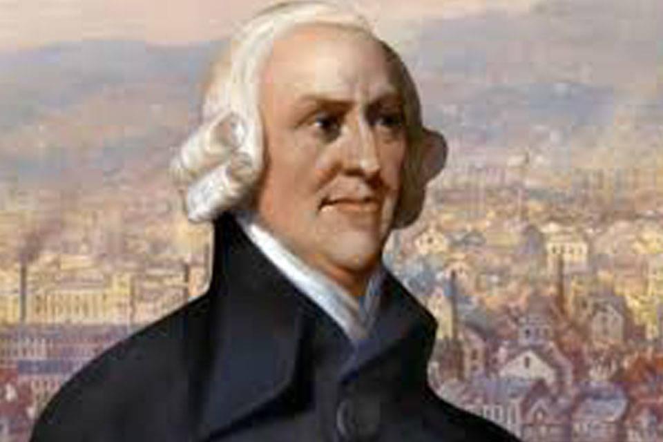 Adam Smith. Foto: Infobae