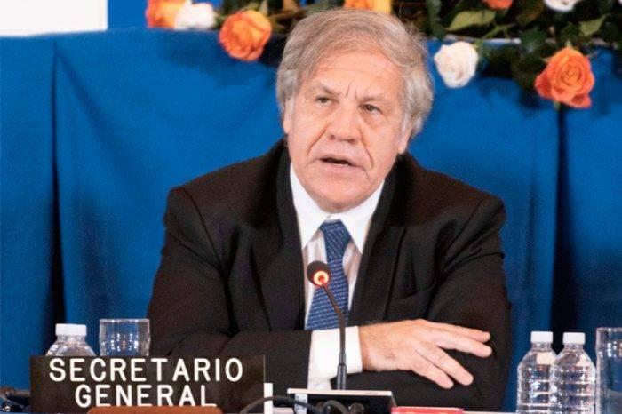 Almagro solicita reunión urgente en la OEA para tratar crisis migratoria venezolana