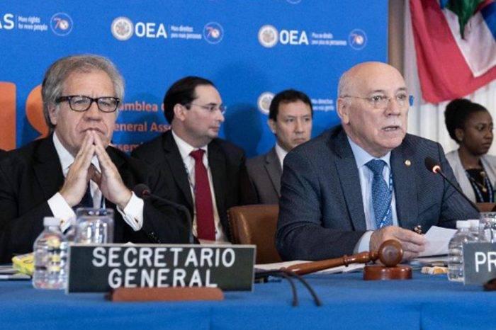 Venezuela y Nicaragua serán temas obligados en la Asamblea General de la OEA