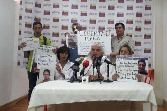 Ana Da Costa Vasco presos políticos