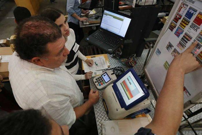 CNE inicia auditoría de datos de electores que votaron el #20demayo