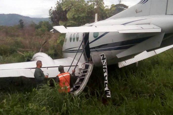 Incautan avioneta en Zulia y detienen a 2 personas vinculadas con narcotráfico