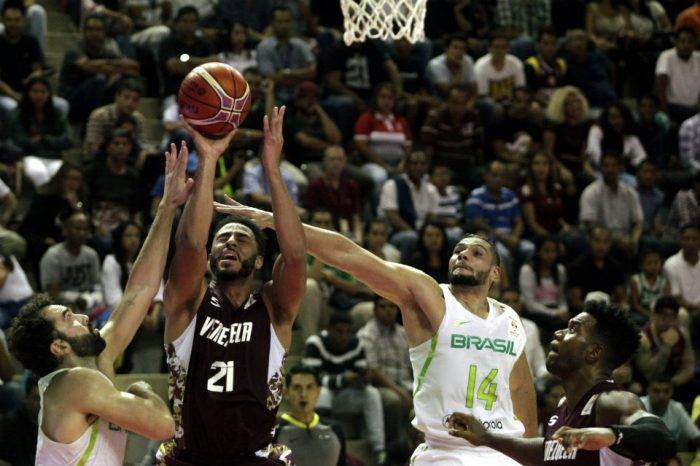 Venezuela derrota a Brasil en eliminatorias del Mundial de Baloncesto