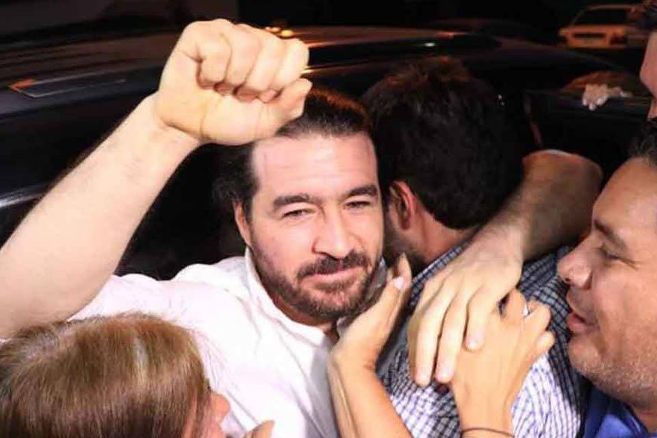 Daniel Ceballos sale en libertad
