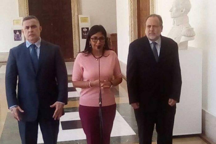 Delcy Rodríguez da por terminada la excarcelación de presos políticos