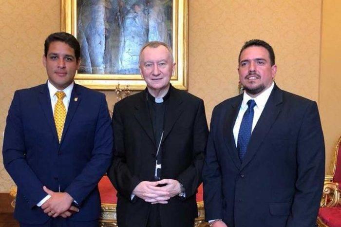 Diputados se reunieron con el cardenal Parolin para tratar crisis venezolana