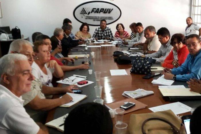 Fapuv anuncia nuevo paro de 48 horas para exigir salarios dignos