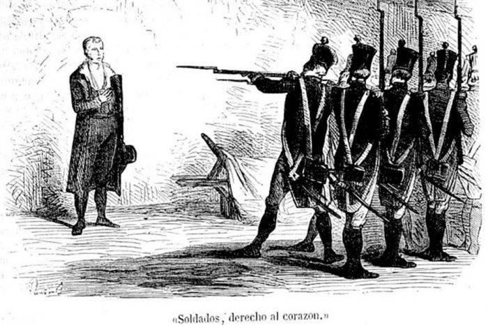 Fusilamiento de Piar, por Ángel Rafael Lombardi Boscán