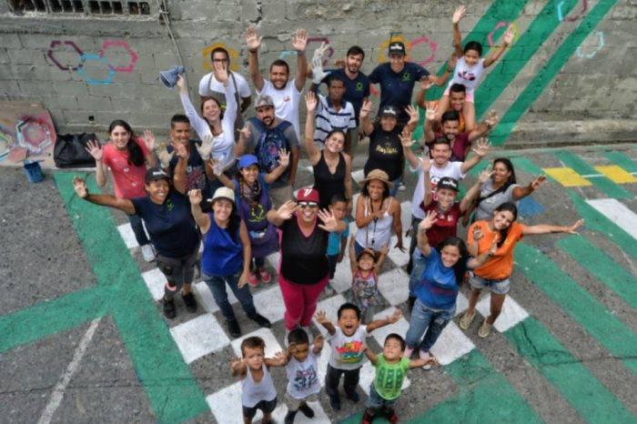 Haciendo Ciudad transforma los muros de Caracas en obras de arte