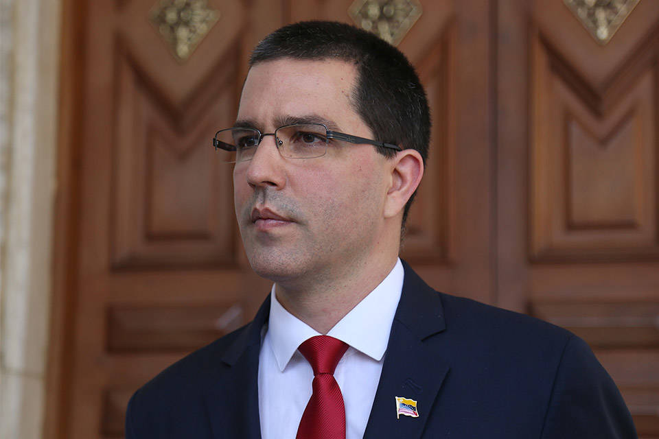 Arreaza Colombia canciller