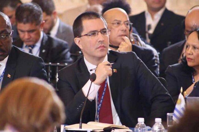 Arreaza tras votación en OEA: No son países con sus pueblos son élites corporativas